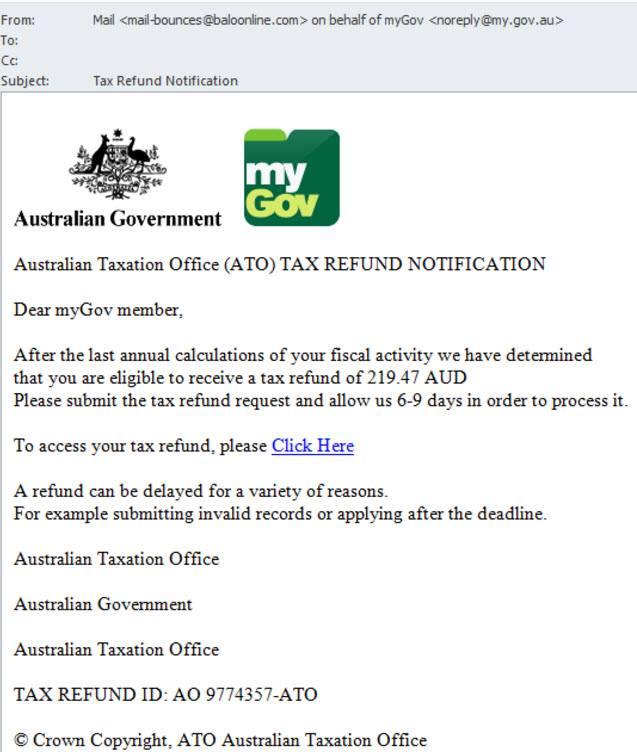 `tax scam